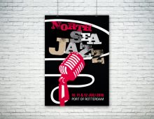 Affiche, North Sea Jazz